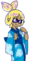 Yukata Squid by Ktullanyx