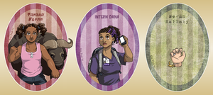 Night Vale Daemons And Their Girls by ErinPtah