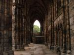 Abbey at the Holyrood House by AluminumWings