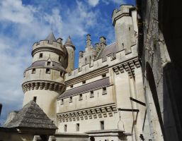 Pierrefonds Castle/Camelot 10 - September 2012 by MorgainePendragon
