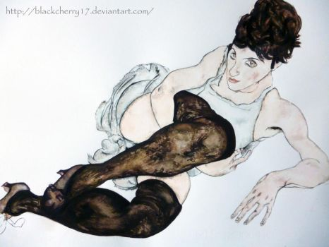 Schiele by BlackCherry17
