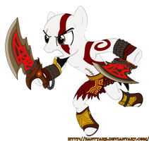 Kratos The Pony of War by ZantyARZ