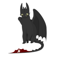 Toothless Commission by BradleyEighth