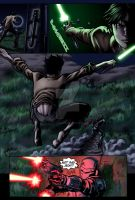 "Star Wars: ""Hunted"" page 4 by DavidFernandezArt"