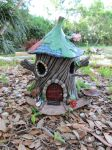 Pixie oak house bird feeder. by flintlockprivateer