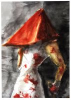 red pyramid head by WinterSpectrum