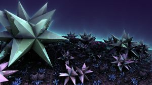 Crystal Landscape 03-20-2012 by crotafang