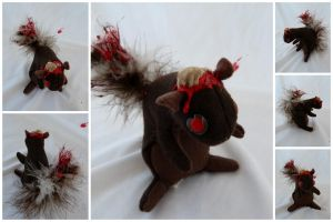 Zombie Squirrel For Don by IckyDog