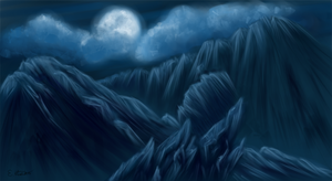 Random Mountains 9 by Freesong
