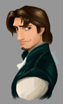 Flynn Rider-practice-painting by NickyLinh