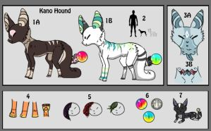 - Kano Hound Ref - by WolvesDestinyBlood