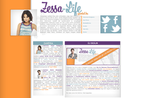Vanessa Hudgens and Zac Efron layout by hellomia