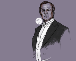 Lord Grantham by Trouillefou