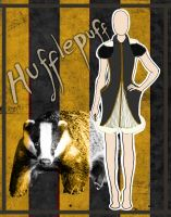House Couture - Hufflepuff by DistantDream