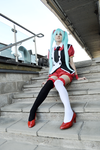 Awaiting - Hatsune Miku (Vocaloid) by mourucos