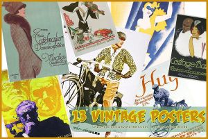 Vintage Posters II by lady-vicious
