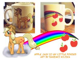 Apple Jack Mug by kojika