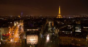 Paris by Night by cjbroom