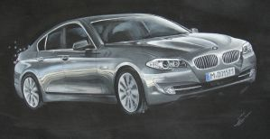 BMW 5 - F10 - by DachitaOokami
