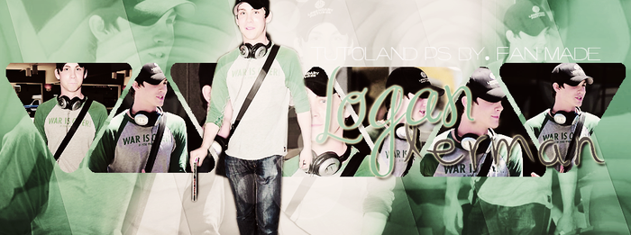 Logan Lerman 02. Portada by Leslie by LesliiEditions
