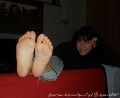 Giusi Smile n Perfect Soles 2 by SelfshotYourFeet