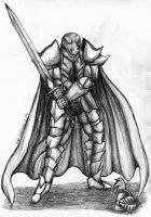 Sir Kerram the Komodo Knight by Kiljunator