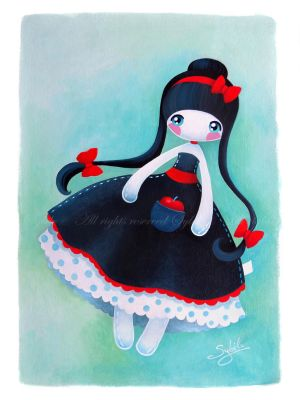 Snow-White Dolly by SybileArt