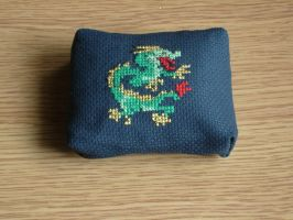 Dragon Pincushion by Archarachne