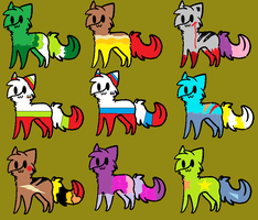 :Adoptables2: by Lemurcho