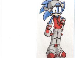 Sonic on Male Furry Doll Maker by sonicfanaticguy7127