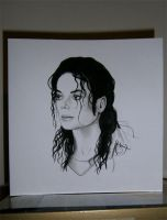 MJ greeting card by Finnish-Penguin