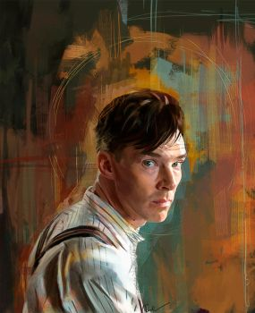 B. Cumberbatch by WisesnailArt