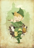 The Pied Piper by diloupilou