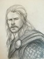 Thor Portrait by k-eesri