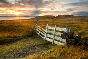 Sunset Gate by cwaddell