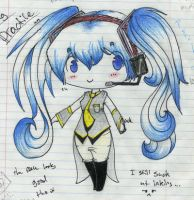 Chibi Tailcoat Miku by HoliMooTaku