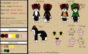Ultimate Kiva Reference Sheet by WolfTwine