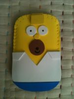 Homer Mobile Case by anapeig
