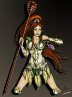 Teela - Coloration by maneus