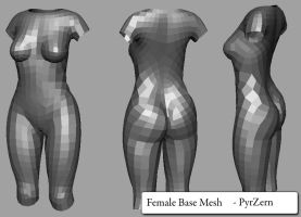 Female Topology by PyrZern