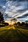 A Warm Autumn's End HDR 1 by OneofakindKnight