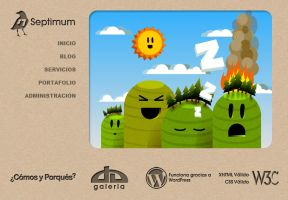 Septimum Home Page by rod750