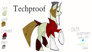 Techproof reference sheet Ver. 1.1 by SyobonHatena1000