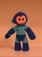 Megaman Amigurumi by Whitness