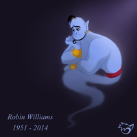Robin Williams Tribute by CaptainPinsel