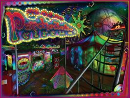 Psychedelic Circus by psypepper