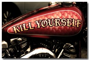 Kill Yourself by CityofAngelsPhoto