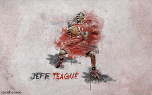 Jeff Teague | Wallpaper by ClydeGraffix