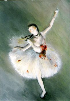 Ballet dancer by lucycasey