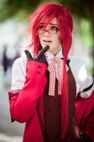 Grell - Ponder by Sillizicuni